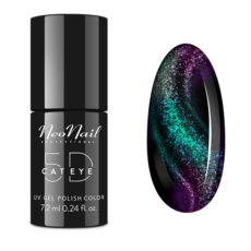 Foto del producto 5: Esmalte permanente Neonail – Magnetic Cat Eye 5D – 7,2ml – Siberian.