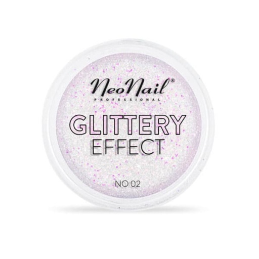 GLITTERY EFFECT N02 Uñas Metalizadas