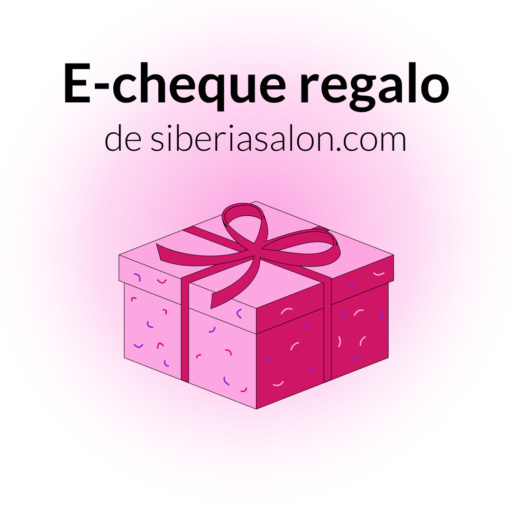 E-cheque de regalo para los productos de siberiasalon.com 30 euros