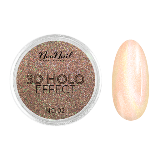 3D HOLO effect, uñas metalizadas 2gr ref 5329-2
