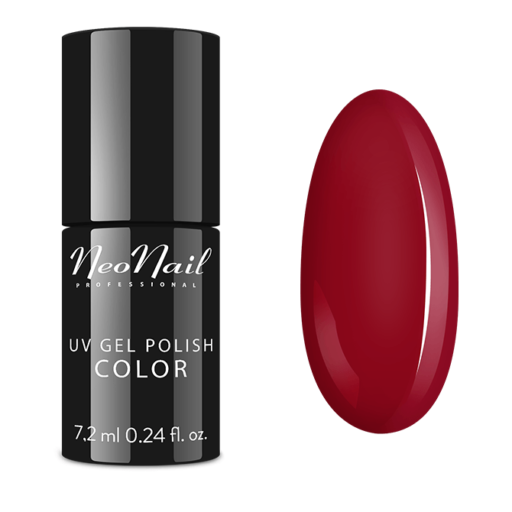 Esmalte permanente Neonail 7,2ml  – Raspberry Red