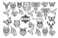 Foto del producto 1: Slider SIBERIA 3D 16 negro.