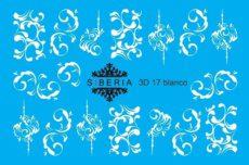 Foto del producto 14: Slider SIBERIA 3D 17 blanco.