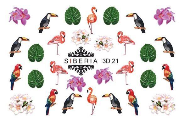 Slider SIBERIA 3D 21