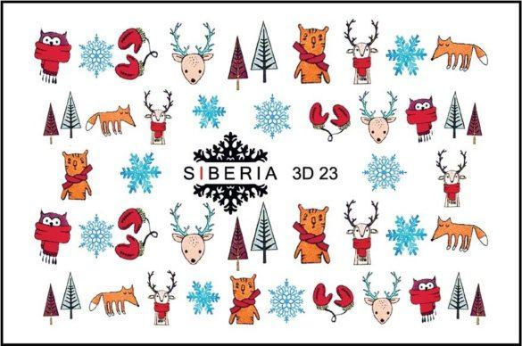 Slider SIBERIA 3D Navidad 23