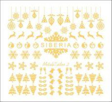 Foto del producto 11: Slider Siberia Metalizados 02 oro.