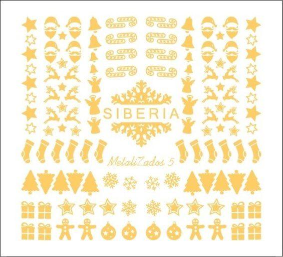 Slider Siberia Metalizados 05 oro
