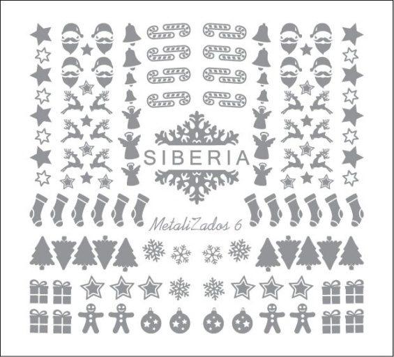 Slider Siberia Metalizados 06 plata