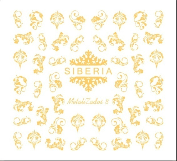 Slider Siberia Metalizados 08 oro