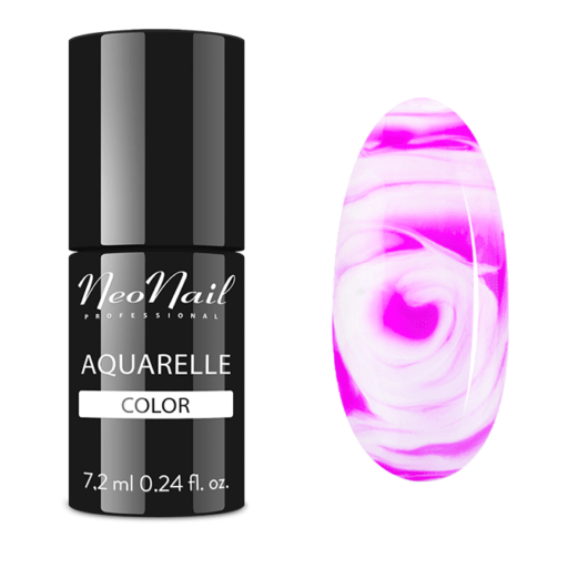 Esmalte permanente Neonail 7,2ml – Fuchsia Aquarelle