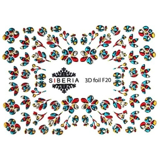 Slider SIBERIA 3D Foil F20