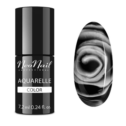Esmalte permanente Neonail 7,2ml – Black Aquarelle