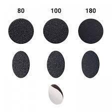 Recambios desechables para disco tamaño L 25mm para pedicura .
