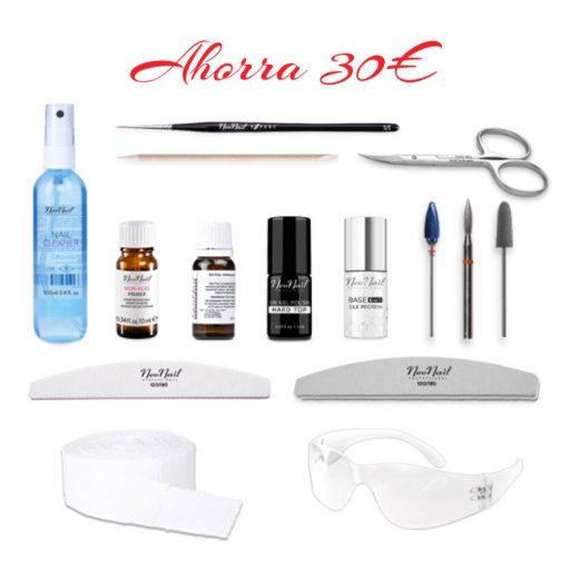 Pack de herramientas para curso online manicura rusa