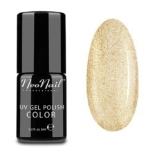 Foto del producto 3: Esmalte permanente Neonail 6ml   – Glitter Gold.