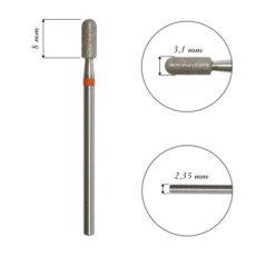 Foto del producto 1: Fresa / Broca de diamante, forma de bala, grano fino, 3,1mm.
