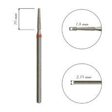 Foto del producto 10: FRESA para cutícula, forma cono, diamante, grano fino 1,8mm.