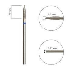 Foto del producto 9: Fresa / Broca de diamante, forma aguja, grano medio. 2,3mm.