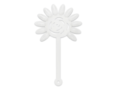 Foto del producto 4: Flor de tips blanca.
