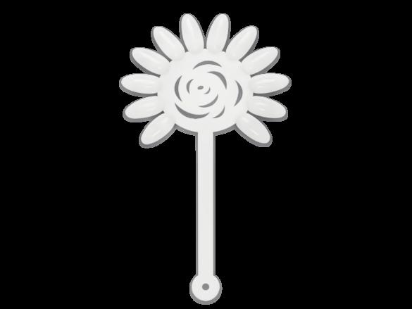 Flor de tips blanca