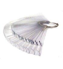 Foto del producto 6: Tips transparentes con anilla.