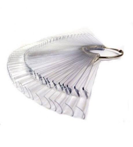 Tips transparentes con anilla