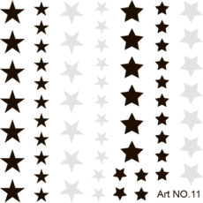 Foto del producto 7: STICKER Deco Professional Art 11.