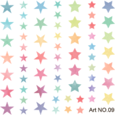 STICKER Deco Professional Art 9