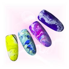 Foto del producto 8: CURSO ONLINE: Decoraciones de tendencia: degradado de 2 a 4 colores y texturas (efecto mármol y piedra).