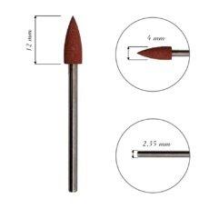 Foto del producto 21: FRESA para cutícula, de silicona, cono, grano 180grit.