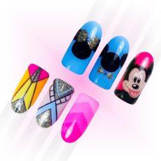 Foto del producto 8: CURSO ONLINE: Decoraciones de tendencia: diseño Mickey Mouse y líneas geométricas.