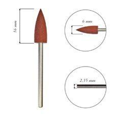 Foto del producto 6: FRESA para cutícula, de silicona, cono, grano 180grit 16mm.