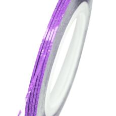 Foto del producto 9: Cinta para uñas violet shine.