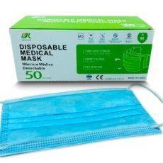 Foto del producto 1: Mascarilla Medica tipo IIR, 50unindades.