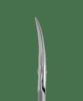 Tijera corta, de hoja curva para cutícula STALEKS SMART 22/1