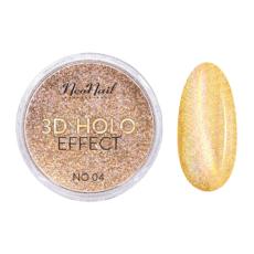 Foto del producto 2: 3D HOLO effect, uñas metalizadas oro 2gr ref 5329-4.